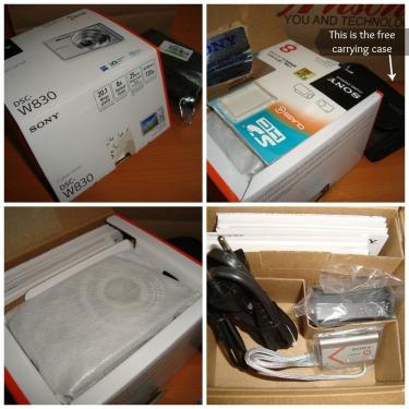 Sony Cybershot W830 Collage