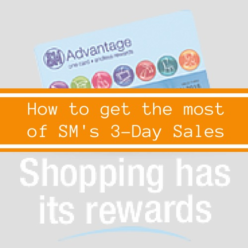 How to Get the Most of SM 3-Day Sales