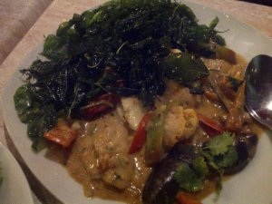 Just Thai Mixed Seafood in Basil