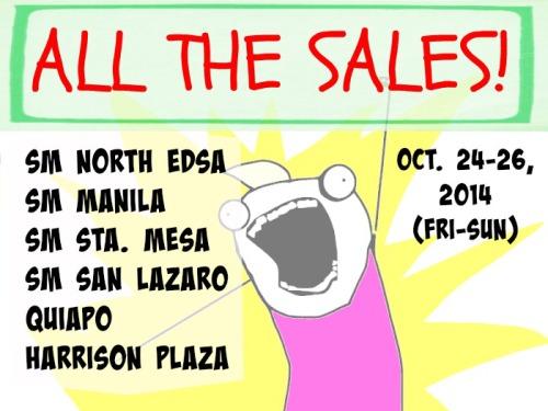 SM 3 Day Sales All Manila Malls
