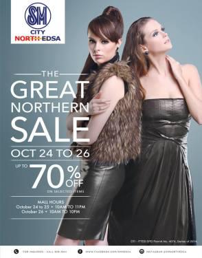 SM North Edsa 3 Day Sale Oct 2014