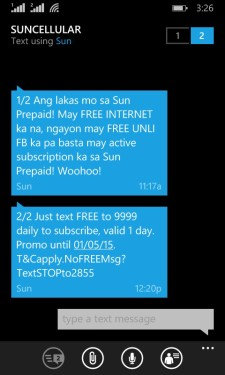 Sun Cellular Free Internet 9999