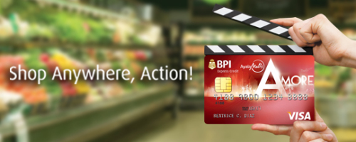 BPI Amore Credit Card Free Ayala Cinema Movie Tickets for every P2,500 purchase