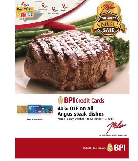 BPI Melos Angus Steak 40 off