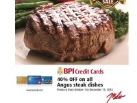 BPI Melos Angus Steak 40 off