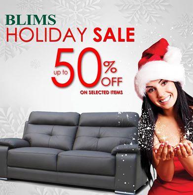 Blims Christmas Holiday Sale 2014