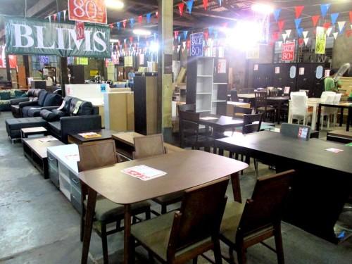 Blims Furniture Warehouse Sale Nov 2014 2
