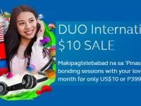 Globe Duo International 10 Sale Banner