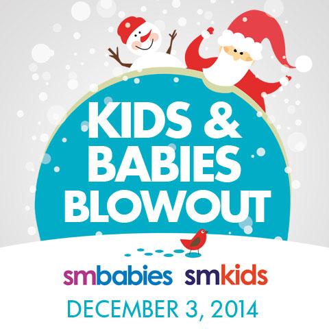 SM Kids and Babies Blowout Sale Dec 3 2014