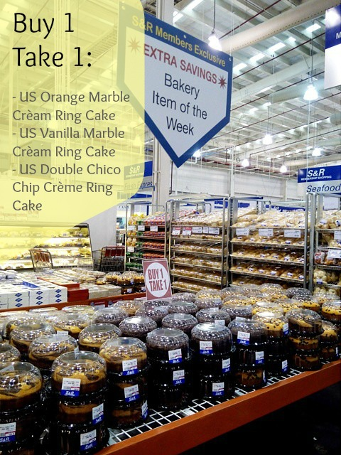 SnR Bakery Buy 1 Take 1 Nov 26 2014