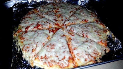 SnR Haul Nov 26 2014 Kirkland Signatures Cheese Pizza Baked