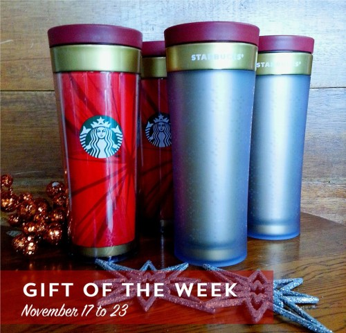 Starbucks P100 OFF Christmas Bella Tumbler