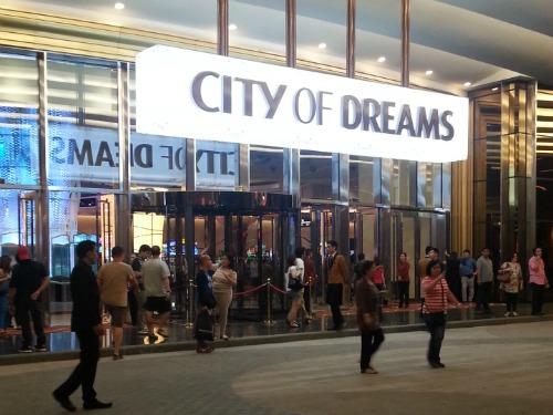 City of Dreams Manila Front Door