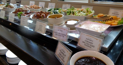 Guevarra's Chef Laudico Restaurant Lunch Buffet Review Salads