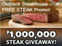 Outback 1 Million Promo Free Steak Thumbnail