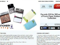 SM Stationery P150 for P300 Promo 50% OFF