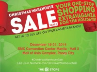 SMX Christmas Warehouse Sale 2014
