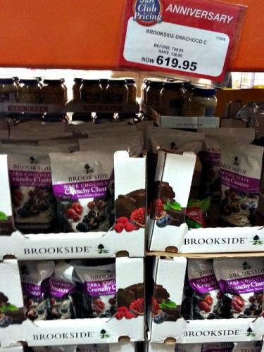 SnR Supermarket Haul Dec 20 2014 Brookside Berries Cluster Dark Chocolate
