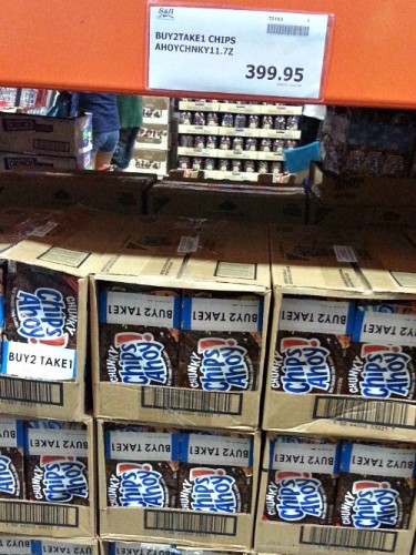 SnR Supermarket Haul Dec 20 2014 Chunky Chips Ahoy Buy 2 Take 1