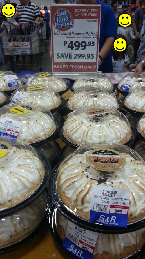 SnR Supermarket Haul Dec 20 2014 Meringue Pies