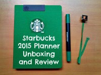 Starbucks 2015 Planner Unboxing Review Featured Image