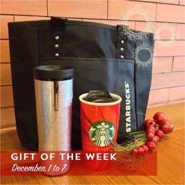 Starbucks Reversible Tote Bag 20 OFF Christmas Items