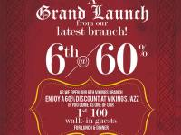 Vikings 60% OFF first 100 Guests Makati SM Jazz Mall Dec 2014