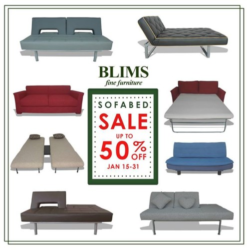 Blims Sofa Bed Sale January 15-31, 2015