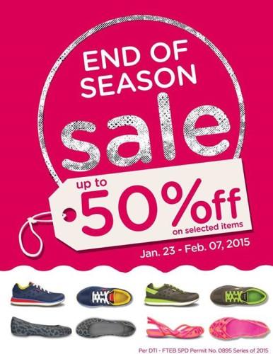 Crocs End of Season Sale January 23 - February 7, 2015