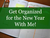 Get Organized For the New Year With Me