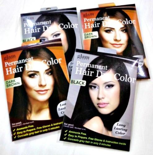 Glamworks Permanent Hair Dye Packs