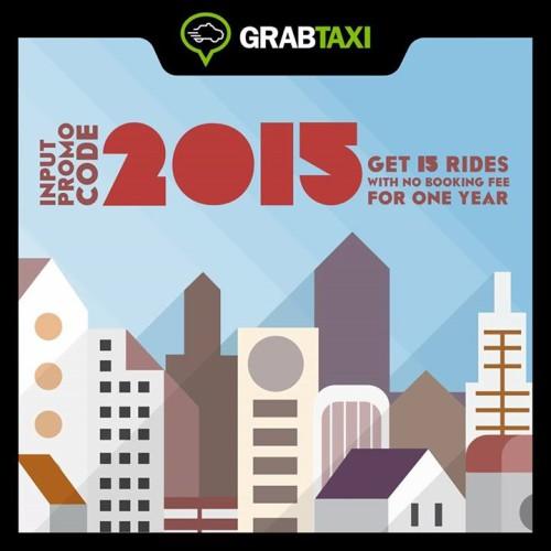 GrabTaxi Grab Taxi 2015 Get 15 Rides No Booking Fee
