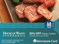 House of Wagyu Metrobank 30 OFF