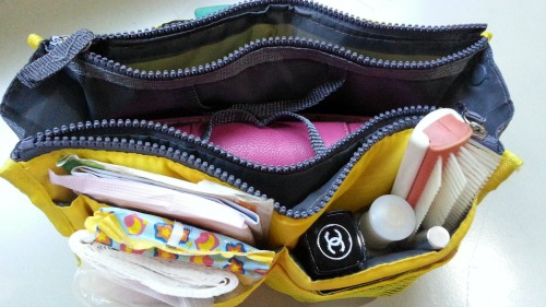 How I Organize My Bag in Bag Organizer