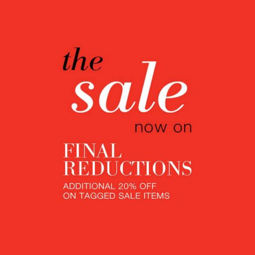 Marks and Spencer Final Reductions Sale January February 2015