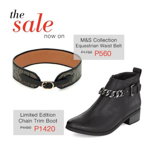 Marks and Spencer Final Reductions Sale January February 2015 Accessories