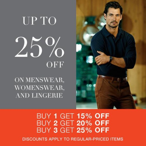 Marks and Spencer Regular Items Sale Up to 25 OFF