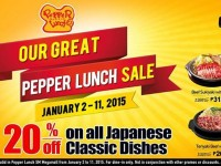 Pepper Lunch January Sale 20% OFF Japanese Classic Dishes Featured