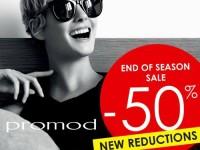 Promod End of Season Sale 50% OFF January 2015
