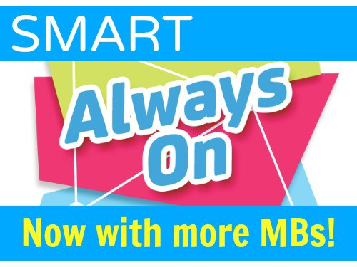 Smart Always ON Now With More MBs