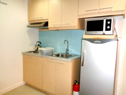 BSA Twin Towers St Francis Condotel Kitchenette