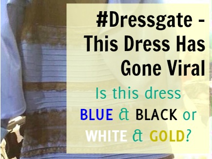 Blue Black White Gold Dress Debate Featured Image