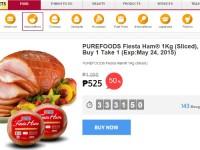 Buy 1 Take 1 Purefoods Ham
