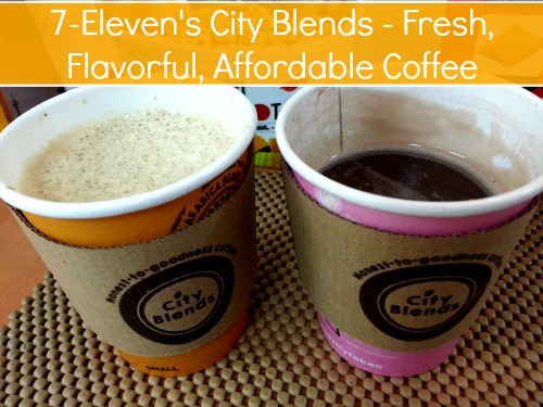 7-Eleven's City Blends - Fresh, Flavorful, Affordable Coffee #711cityblends