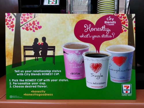 City Blends Coffee 7 Eleven Honest Cups Valentine Love Month #711cityblends