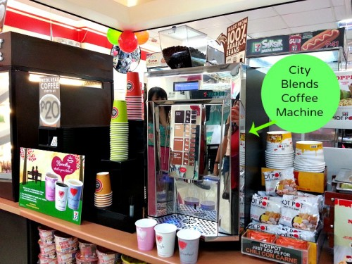 City Blends Coffee 7 Eleven Machine #711cityblends