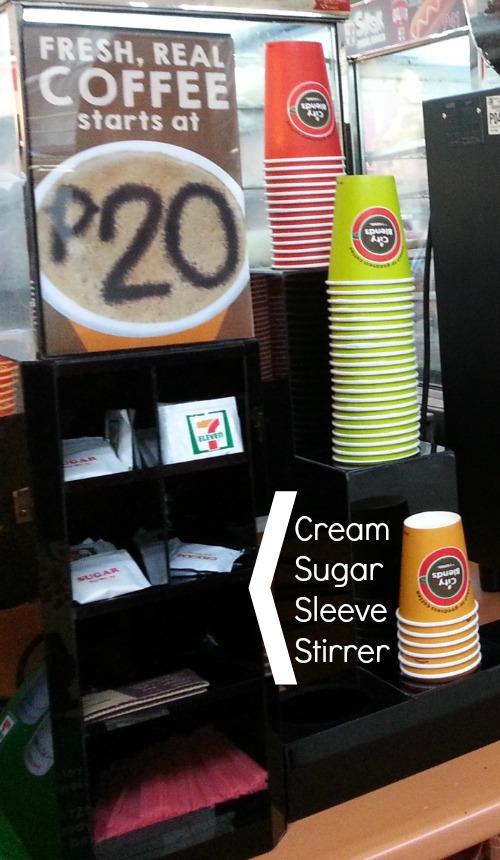 City Blends Coffee 7 Eleven Machine Sugar Cream - Karen MNL
