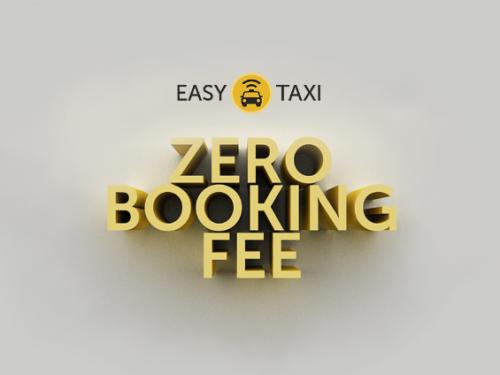 Easy Taxi Zero Booking Fee February 2015