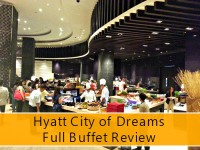 Hyatt City of Dreams Full Buffet Review