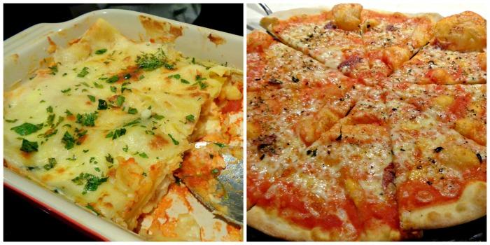 Hyatt City of Dreams Buffet Pizza Lasagna